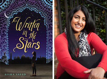 L: Written in the Stars; R: Aisha Saeed
