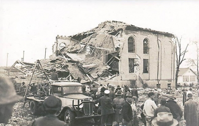 New London School after the explosion